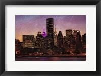 Framed Mid-Manhattan Twilight C