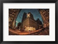 Framed NYC Ornamental Snowflake