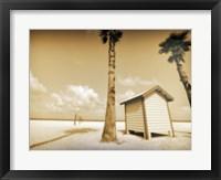 Framed Beach Dressing Room