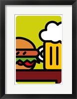 Framed Sandwich E Birra