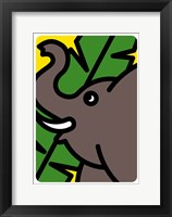 Framed Elefante