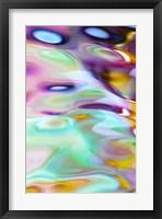 Framed Aqua Golw