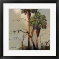 Framed Stricktly Palms 1