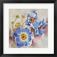 Framed Delicate Blooms 1