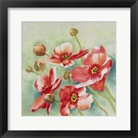 Framed Delicate Blooms 2