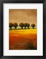Framed Pollard Willow I