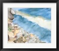 Framed Pelican Lake Shore