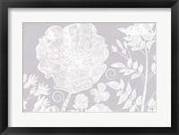 Framed Field Poppy - White