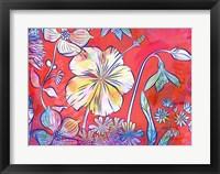 Framed Hawaii Hibiscus