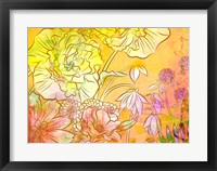 Framed Brassy Begonia A