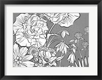Framed Brassy Begonia D