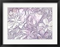 Framed Rocky Road Roses B