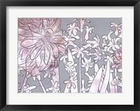 Framed Hyacinth Heaven B