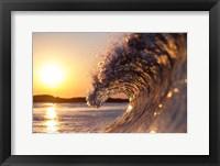 Framed Sun Silky Sea