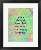 Framed Choosing Happiness (words)