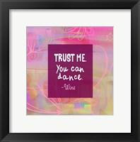 Framed Trust Me-For the Love of Wine Calendar