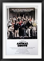 Framed Animal House