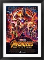 Framed Avengers Infinity War