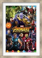 Framed Avengers Infinity War (group)