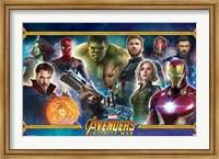 Framed Avengers Infinity War (team)