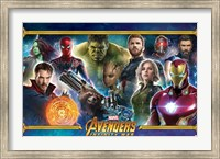 Framed Avengers Infinity War (team)