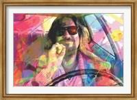 Framed Big Lebowski