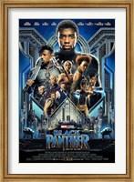 Framed Black Panther