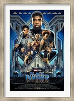 Framed Black Panther