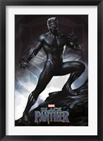 Framed Black Panther (pose)