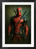 Framed Deadpool