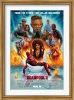 Framed Deadpool 2