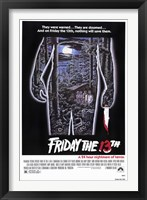 Framed Friday the 13th