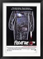 Framed Friday the 13th