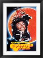 Framed Clockwork Orange