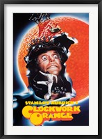 Framed Clockwork Orange