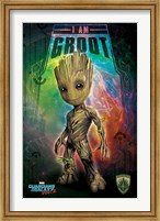 Framed Guardians of the Galaxy - I Am Groot