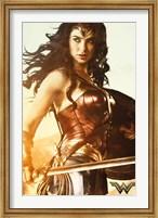 Framed Wonder Woman