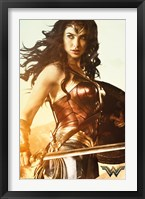 Framed Wonder Woman