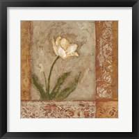 Framed Morning Floral I