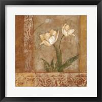 Framed Morning Floral II