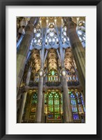 Framed Colorful Barcelona 5