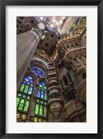 Framed Colorful Barcelona 9