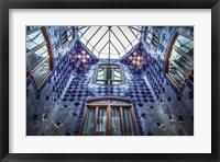 Framed Barcelona blue 2
