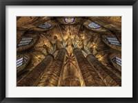 Framed Barcelona Cathedral