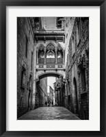 Framed Barri Gotica Barcelona