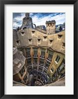 Framed Colorful Barcelona 12