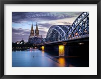 Framed Cologne Germany