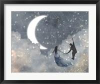 Framed Celestial Love I