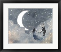Framed Celestial Love I