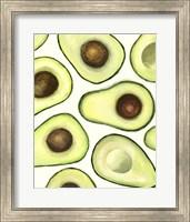 Framed Avocado Arrangement I